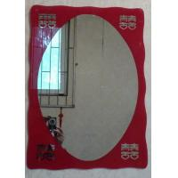 Wholesale red mirror decorative mirror wall mirror home design wedding mirrors from china suppliers