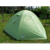 Wholesale Custom Folding Waterproof Canvas Camping Tent Green / 2 Man Instant Tent from china suppliers