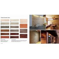 Wholesale 600*90mm Modern Eco-Friendly Anti dropping Clay cladding materials Flexible wooden stone from china suppliers