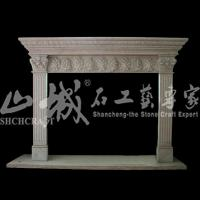 Wholesale Indoor electric heater stone fireplace without remote control from china suppliers