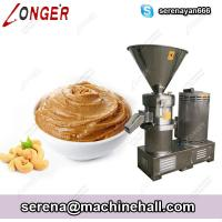 Buy cheap Commercial Cashew Pistachio Butter Grinding Making Machine Stainless Steel from wholesalers