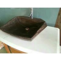 Wholesale washbasin,brown natural stone basin,bathroom vanities,bathroom sink, bathroom vanity ideas from china suppliers