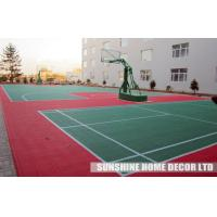 Wholesale Indoor Interlocking Tennis Court Flooring Tile , Futsal Court Surface from china suppliers