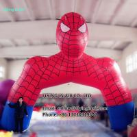 Wholesale 5m Inflatable Spidernan Arch with Blower for Outdoor Advertisement or Decoration from china suppliers