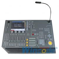 Wholesale Dance Hall Lighting Dmx Controller Black Color With Keyboard / Mouse Included from china suppliers