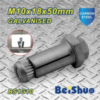 Quality Carbon steel Galvanised Zinc plated Hot dip Galanised stainless steel Steelwork Expansion Anchor Bolt for sale