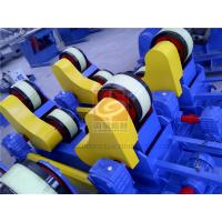 Wholesale VFD Control Self Aligning Rotators Single Drive PU Rollers 40 Ton from china suppliers
