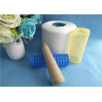 Wholesale High Strength Dyeing Tube Spun Polyester Yarn , 1.25kg per Cone from china suppliers