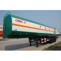 Quality CIMC liquid transport vehicle optional volume fuel tanker trailer for sale