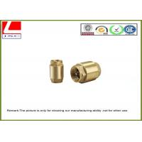 Wholesale Professional High Precision Brass Shaft CNC Metal Machining / CNC Machining Services from china suppliers