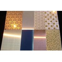 Wholesale Stainless Steel decorative Sheet / Plate aisi201 304 316 from china suppliers