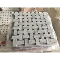 Wholesale Good High Quality Marble Mosaic , New Design marble Mosaic tiles Blue Wood Mosaic from china suppliers
