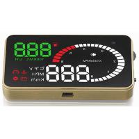 Buy cheap Ouchuangbo 3 inch car radio gps nav head up display screen and high-definition display Multi-color from wholesalers