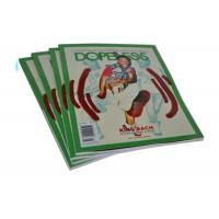 Buy cheap Full Color Art Paper Custom Magazine Printing Saddle Stitch Magazine Printing from wholesalers