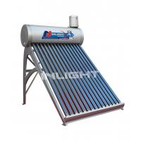 Wholesale 150L anticorrosive PVDF coating low pressure vacuum tube solar water heater from china suppliers