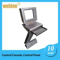 Wholesale White Instrument enclosure made by CNC Powder Coated Control Console from china suppliers