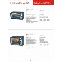 Wholesale Toaster oven in home appliance Kitchen convection Vertical  toaster oven GK-T0-34D from china suppliers