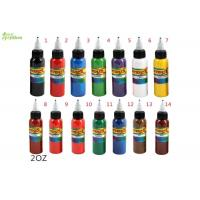 Wholesale Blue / Yellow / Green Tattoo Ink Pure Plant Pigment  2oz ,  Permanent Eyebrow Ink from china suppliers