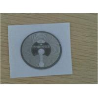 Quality ISO15693 13.56MHz 15*15mm Smart Card Inlay / PET Wet Inlay Sheet For RFID Tags ISO Standard for sale