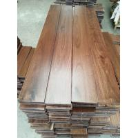 Wholesale stained American Walnut Solid Hardwood Flooring, AB grade, smooth surface from china suppliers