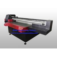 Buy cheap Industrial Aluminum Digital Flatbed Printer , Wide Format Multifunction Printer With Varnish Printing from wholesalers