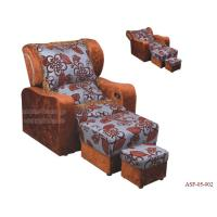 Wholesale ASF-05-002 Pedicure Foot Spa Massage Chair , Reclining Massage Pedicure Chair from china suppliers