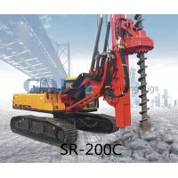 Wholesale 20m 800mm SR200M Rotary drilling rig caisson piling foundation, jet grouting from china suppliers