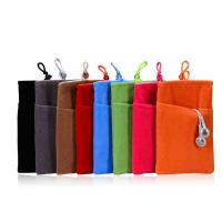 Wholesale Colored Velvet Drawstring Bag Design Your Own Drawstring Bag for Phone from china suppliers
