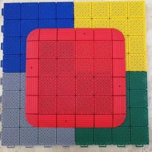 Buy cheap long life polypropylene  Assembly Anti Slip Interlocking Removable Plastic Floor Tile from wholesalers
