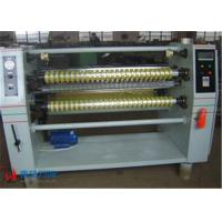 Quality High Speed Plastic Film Pape Roll Slitter Machine Max Cutting Diameter 800mm for sale