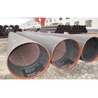 Wholesale Hydraulic Fluid Round LSAW Pipes SCHX52 Welded Steel Pipe 6.35 ~ 50mm from china suppliers