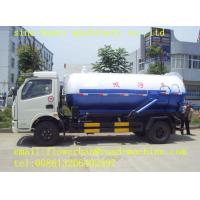 Wholesale 500r/Min Sewage Vacuum Truck SWZ 4X2 10 M3 L/RHD With Safety Belts Suction Pump from china suppliers