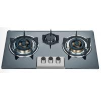 Wholesale Big Fire Bulit In Three Burner Gas Stove Enamel Pan Support 710 * 400mm from china suppliers