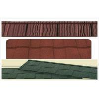 Quality Classic / wave Aluminum Stone Chip Coated Steel Roof Tiles / roofing panel for sale