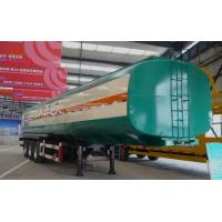 Wholesale Carbon Steel Tank Truck Trailer For Oil Transportation ISO Standard from china suppliers