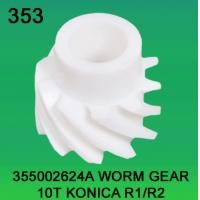 Wholesale 355002624A / 3550 02624A WORM GEAR TEETH-10 FOR KONICA R1,R2 minilab from china suppliers