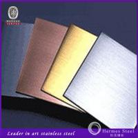Wholesale PVD Coated Colored Sainless Steel Home Hotel Decoration Decorative SS Sheets from china suppliers