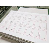 Wholesale Ultralight 0.3mm TK4100 ID 13.56Mhz Smart RFID Card Inlay / NFC inlay customized from china suppliers