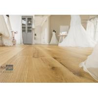 Quality Bespoke 20/6 x 300 x 2200mm ABC grade Oak Engineered Flooring for Royal Wedding Dress Pavilion in UK for sale