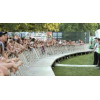 Wholesale Portable Sports Meeting Crowd Barricade System Strong 50×3 mm Frame Tube from china suppliers
