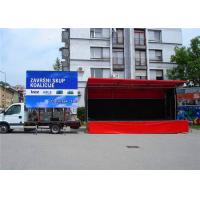 Wholesale Rental Outdoor Truck LED Boards , Advertising Vehicle Mobile LED Display from china suppliers
