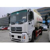 Wholesale Dongfeng 4x2 Bulk Cement Truck 2 Axles 10-18CBM For Powder Material Transport from china suppliers