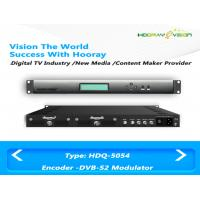 Quality Satellite Generation DVB-S2X Encoder Digital TV Modulator With ASI SDI HDMI Input for sale