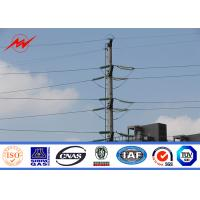 Wholesale 90FT NPC NGCP Steel Power Pole Hot Dip Galvanization Metal Power Poles AWS D 1.1 from china suppliers