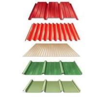China SGC340 DX51D + AZ colored galvalume corrugated steel sheets for roof, wall on sale