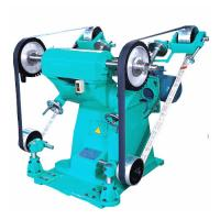 Wholesale Big Power Sand Belt Grinding And Polish Machine With Two Cloth Wheel from china suppliers