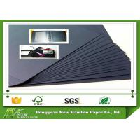 Wholesale Environment Mixed Pulp Laminated Black Paperboard for Making Photo Album from china suppliers