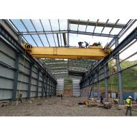 Buy cheap Steel Structure Building Light Steel Frame Warehouse / Workshop Construction from wholesalers