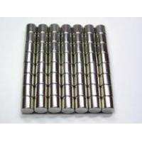 Wholesale OEM black nickel coating N48H grade Bar Shape Neodymium Cylinder Magnets from china suppliers