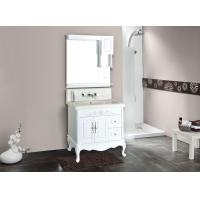 Buy cheap Wall Vanity Antique Classical Bathroom Furniture Sink PVC Bathroom Cabinet from wholesalers